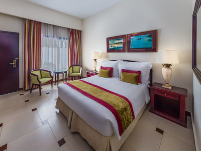 Laguna Poolside Rooms at Ajman Hotel, UAE