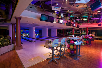 Cosmic Bowling at Ajman Hotel, UAE