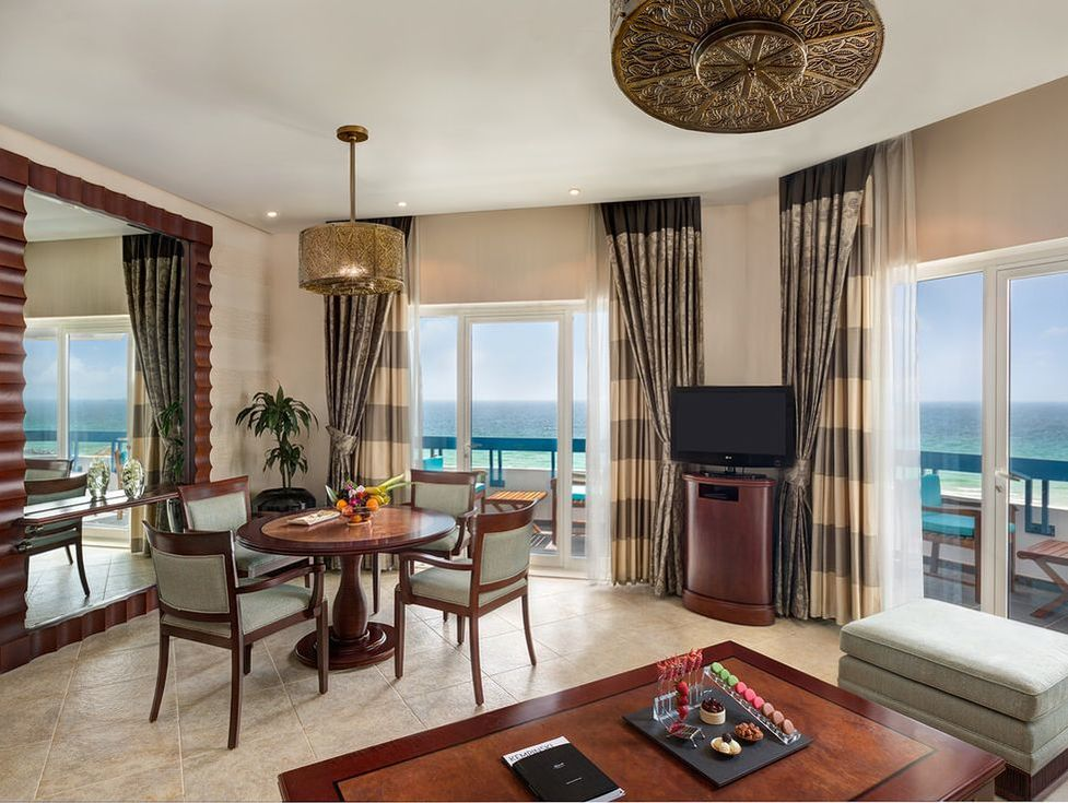 Deluxe Suites at Ajman Hotel, UAE