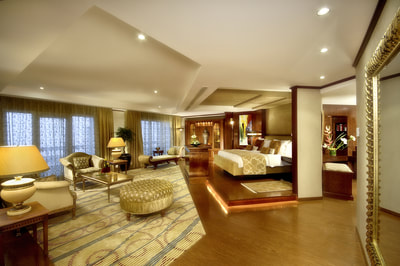 Royal Suite at Ajman Hotel, UAE